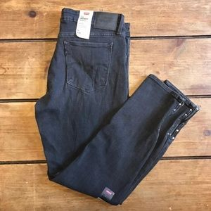 Levi's 711 Gray Skinny Ankle Jeans Size 30 10 New